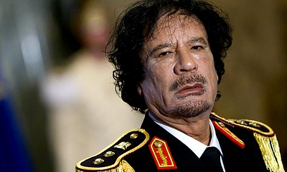 Muammar Gaddafi and other members of his family face UN sanctions